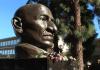 Statue of Gandhi at California State University Fresno