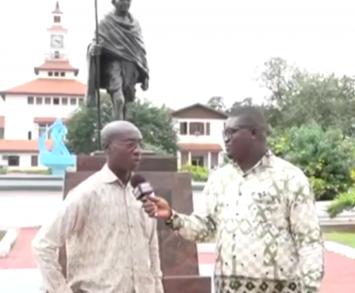 Dr. Kwadwo Appiagyei speaks against University of Ghana Gandhi statue