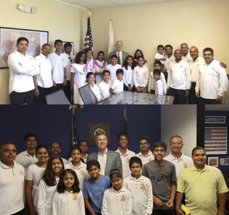 congressman bill foster - congressman scott peters - rss - hindu swayamsevak sangh