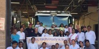 hindu swayamsevak sangh - usa - fire