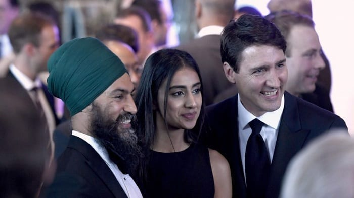 Jagmeet Singh likely to emerge as a kingmaker in Canadian politics by  supporting Trudeau to form government – Sikh24.com