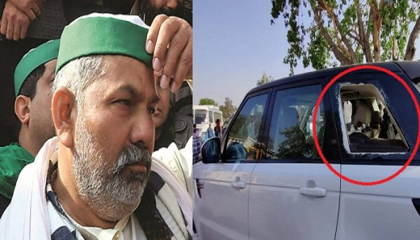 Farmer leader Rakesh Tikait attacked in Rajasthan   Sikh24.com