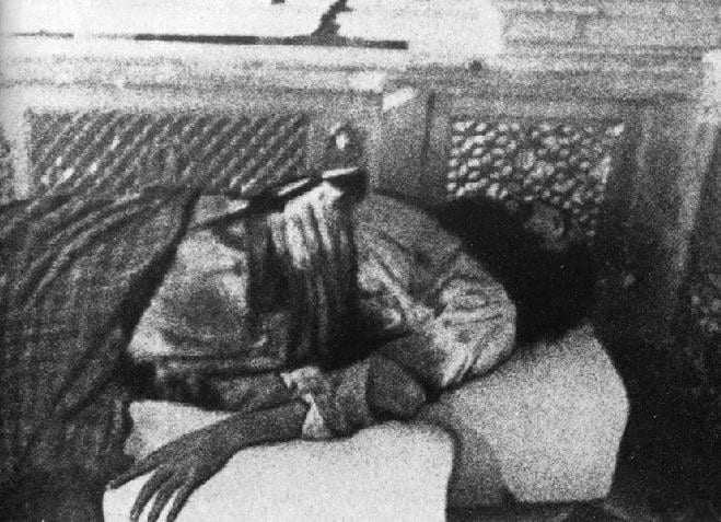 The body of Amar Shaheed Sant Giani Jarnail Singh Khalsa Bhindranwale