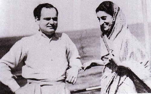 What Was Indira Gandhi Husband Name