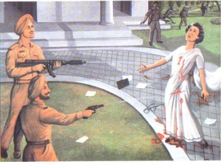 Bhai Satwant Singh and Bhai Beant Singh kill Indira Gandhi and restore Honor within the Khalsa Panth