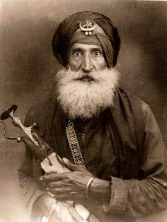 Bhai Gian Singh Ji (98), student of Bhai Gian Singh Ji