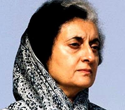Indira Gandhi PM of India