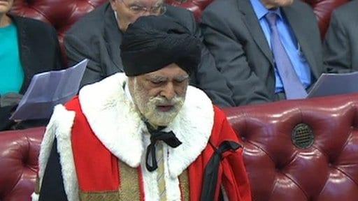 Lord Singh UK Speaks in Debate on Islamic State