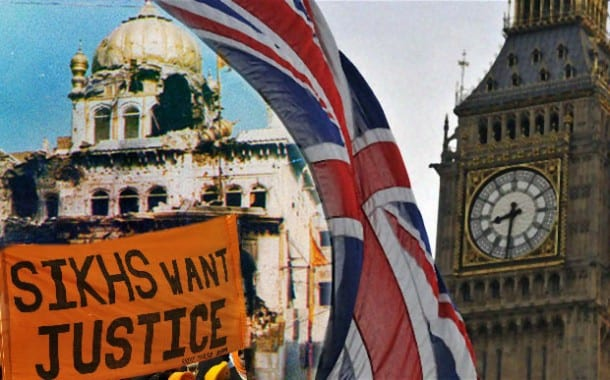 BREAKING: British Government Rejects Calls for Further Inquiry on 1984 events in India